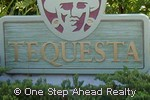 Tequesta community sign